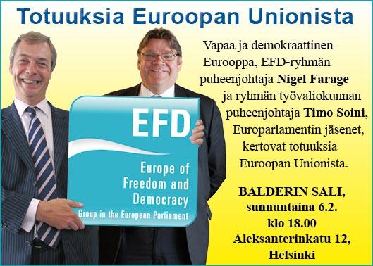 Totuuksia Euroopan Unionista